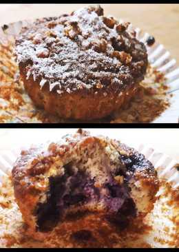 Muffin Mirtilli gluten free