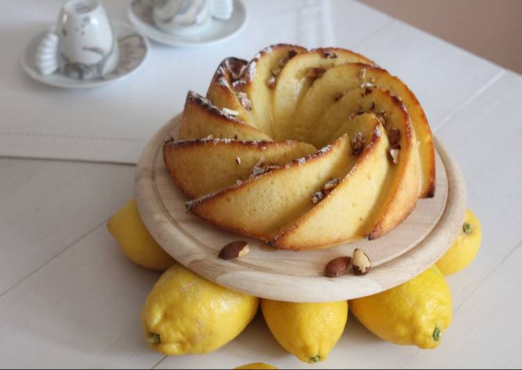 Ciambella ai limoni cotti
