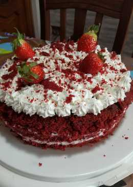 Red Velvet senza burro e senza glutine