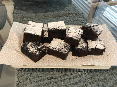 Brownies alla marmellata