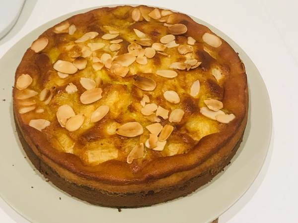 E ancora torta di mele sia... sciusce' sciusce'