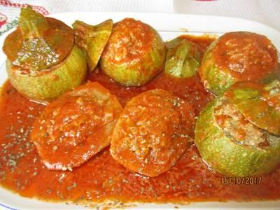 Zucchini Tondi e patate ripiene