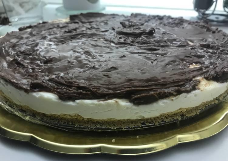 Cheese cake alla Nutella senza cottura