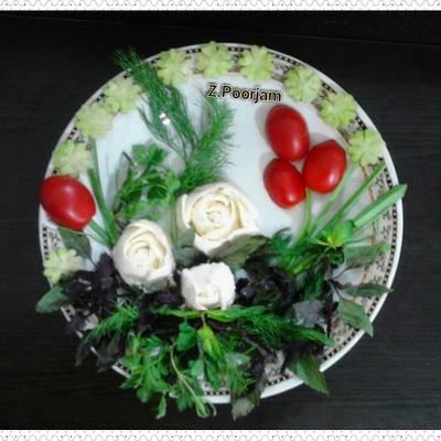 دیزاین نون پنیر سبزی