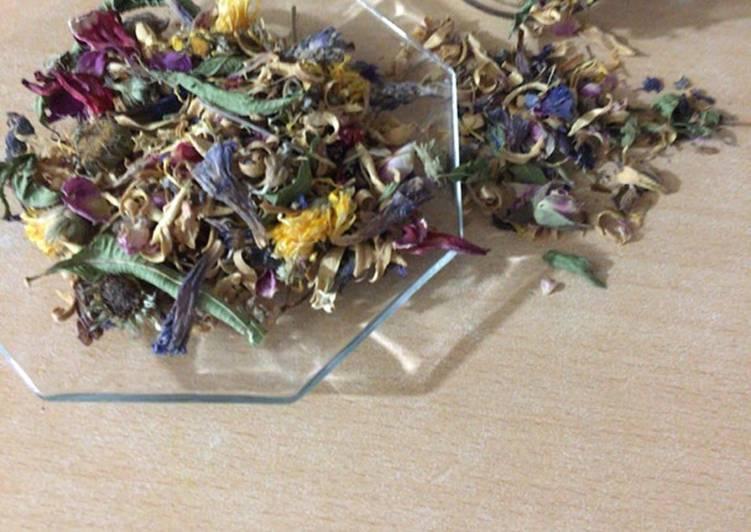 عکس اصلی دستور دمنوش هفت گیاه