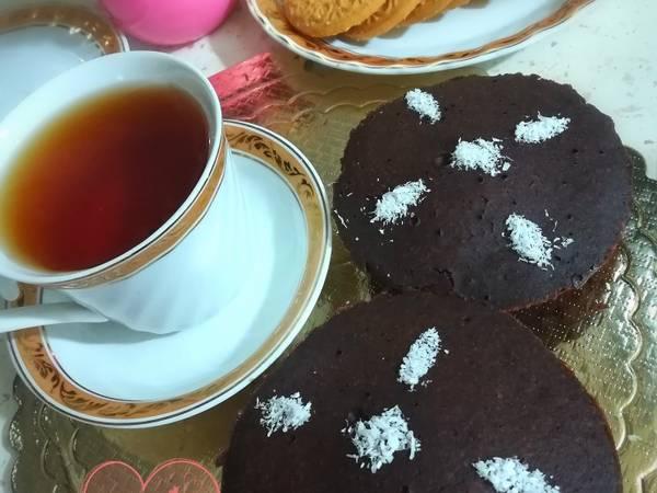 کیک فنجونی شکلاتی بدون فر