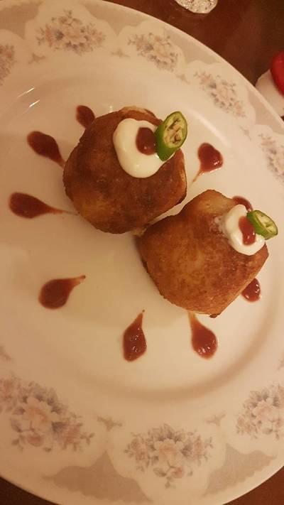 نان سیب زمینی هندی