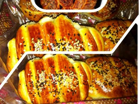 مراحل دستور نان صبحانه عکس 8