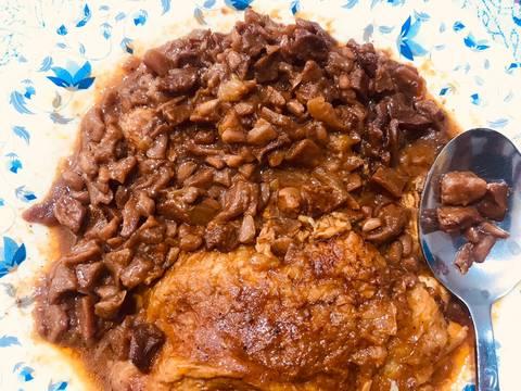 مراحل دستور مواد مرغ شکم پر شیرازی عکس 1