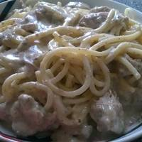 Majorannás hús tésztával