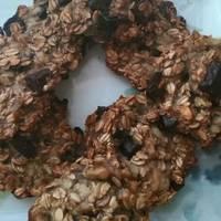 Csokis-banános zabpelyhes keksz