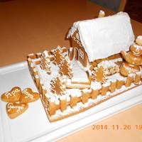 Mézeskalács házikó készítés videó + sablon