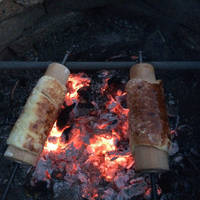 Házi kürtőskalács grillsütőn