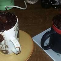 Csokis-cseresznyés mikrós süti