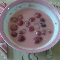 Pudingos cseresznyeleves