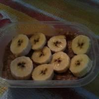 Almás, fahéjas zabkása