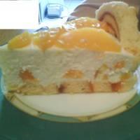 Barackos Charlotte torta