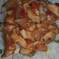 Kínai édes-savanyú csirke Alajuli módra