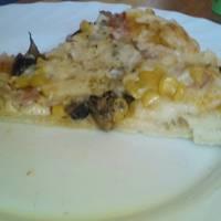 Mozzarellás pizza