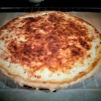 Zöldséges-sajtos quiche