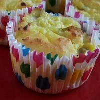 Könnyű túrós muffin