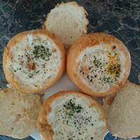 Reggeli tojásos-baconos zsemle