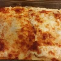 Tejfölös, sajtos csirkemell
