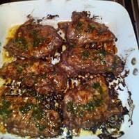Fűszeres csirkemell, limeos-chilis szósszal