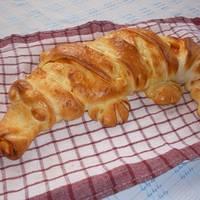 Töltött krokodil-kenyér