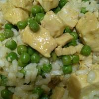 Borsós-currys csirke fusilli tésztával