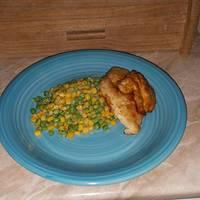 Balzsamecetes csirke zöldségkörettel