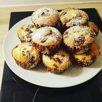 Csokoládédarabkás muffin