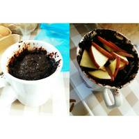 5 perces bögrés brownie