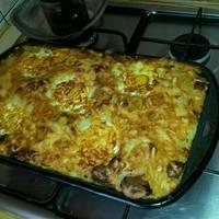 Tört burgonya recept sütőben sütve, tojással
