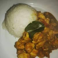 Gyors csirke curry