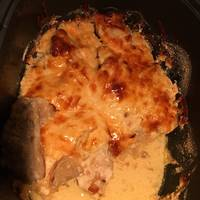 Almás pulykamellfilé recept édesburgonyapürével