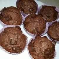 Kókuszos csokis muffin