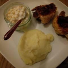 Fotós komment ehhez: Serpenyőben sült, omlós, fokhagymás, ropogós csirkecombok 🍗🍗