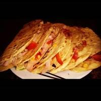Quesadillas recept két féle töltelékkel