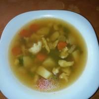 Zöldborsó leves