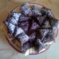 Csokis-kókuszos piskóta