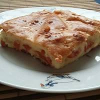 Virslis-sajtos lepény