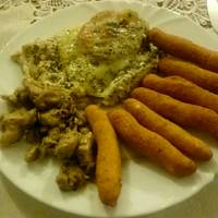 Mozzarellás csirke