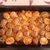 Parmezános-fokhagymas sült burgonya