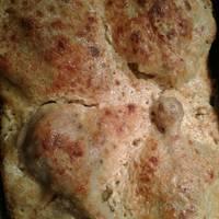 Sajtbundában sült csirkecomb