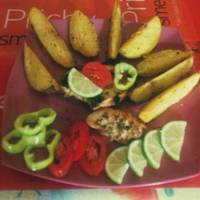 Chilis-limeos csirke