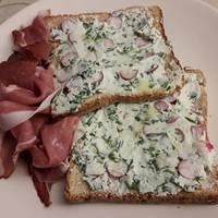 Spenótos ricottás szendvicskrém