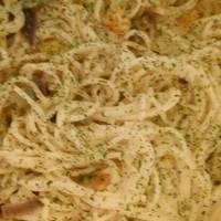 Pikáns sütőtökös spagetti