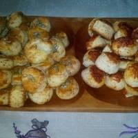 Szalakális, sajtos pogácsa