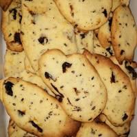 Citromos levendulás keksz